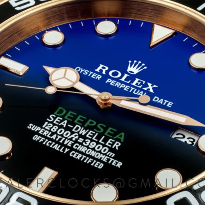 XL Sea-Dweller Deepsea Rose Gold 'D-Blue'