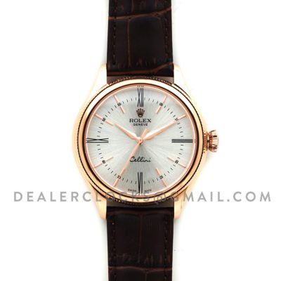 Cellini Time in Everest Gold 50505 (White Dial)