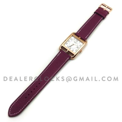 Cape Cod GM Quartz Rose Gold on Light Purple Epsom Leather Strap