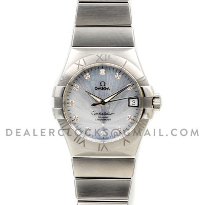 Constellation 38mm White Sunburst Dial