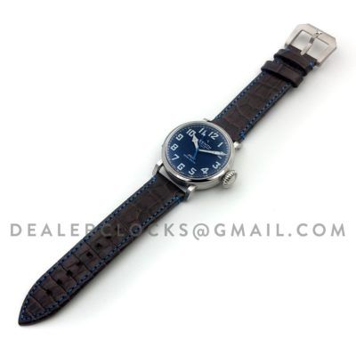 Pilot Type 20 Extra Special Blue in Steel