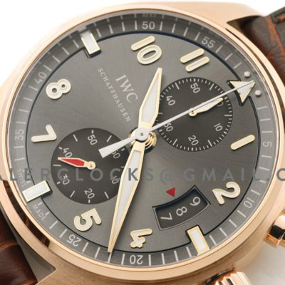 Pilot's Watch Spitfire Chronograph IW387803 Rose Gold