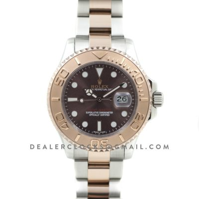 Yacht-Master 116621 Everose Rolesor