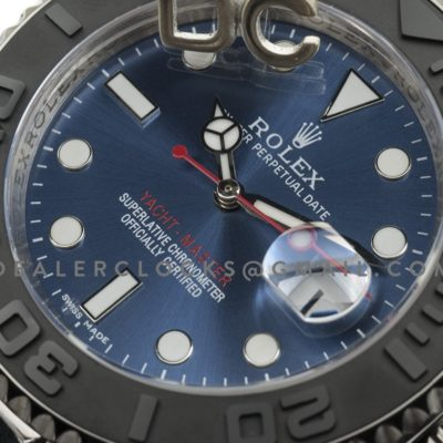 Yacht-Master 116622 Blue Dial with Black Bezel