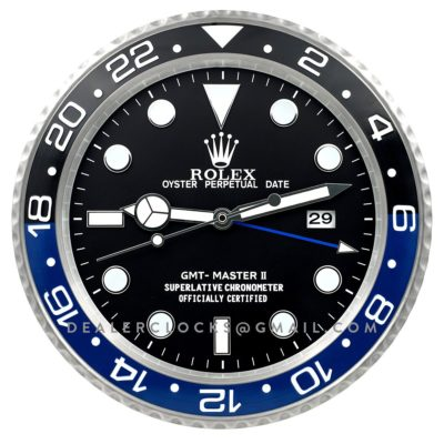 XL GMT Master II Series Steel (Blue/Black Bezel) BLNR