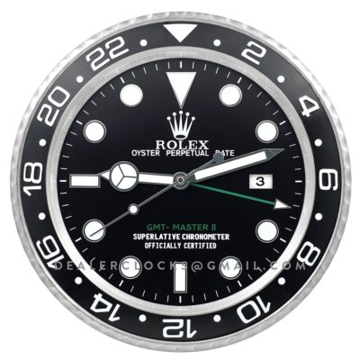 XL GMT Master II Series Steel (Black Bezel)