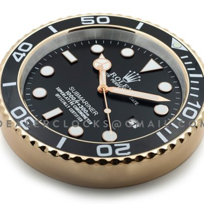 XL Submariner Series Black Gold