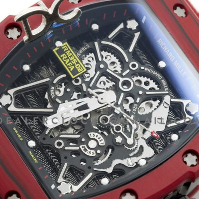 RM 035-02 Rafael Nadal Automatic -TPT Red