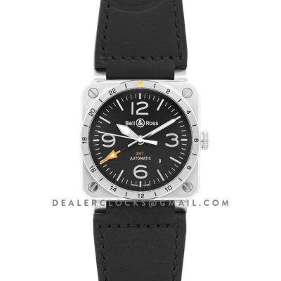 BR 03-93 GMT Black Dial