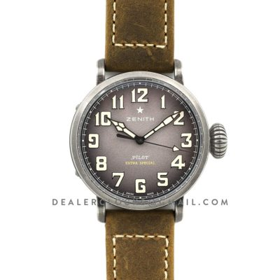 Pilot Type 20 Extra Special 40mm Saffron Dial in Aged Steel