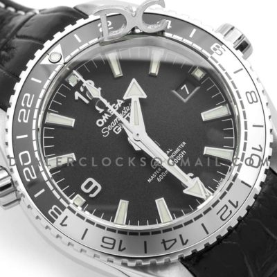 Seamaster Planet Ocean 600M GMT 43.5 MM with Bi-Ceramic Black and White Bezel