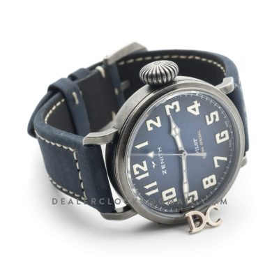 Pilot Type 20 Extra Special 40mm Royal Blue Dial in Aged Steel