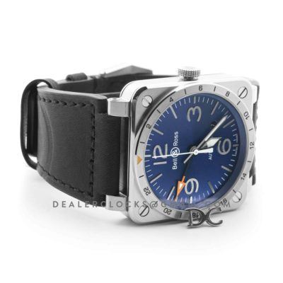 BR 03-93 GMT Blue Dial