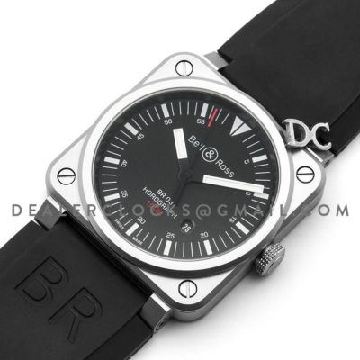 BR 03-92 Horograph on Rubber Strap