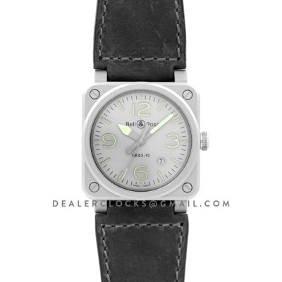 BR 03-92 Horolum on Leather Strap