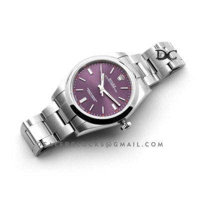 Oyster Perpetual 39mm Red Grape Dial 114300RGSO