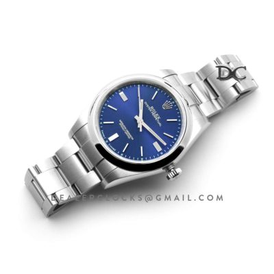 Oyster Perpetual 39mm Blue Dial 114300BLSO