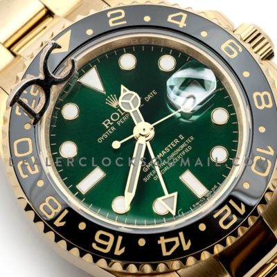 GMT Master II 116718GSO in Yellow Gold