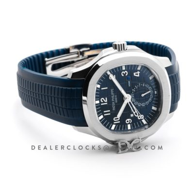 Aquanaut Time Travel 5164A Blue dial in Steel