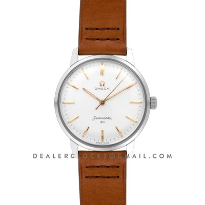 Seamaster 30 1962 White Dial with Rose Gold Markers