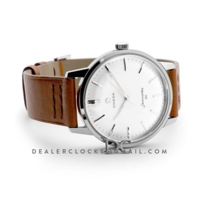 Seamaster 30 1962 White Dial with Silver Markers