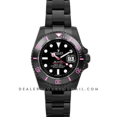Blaken Submariner Pink Lady PVD Steel