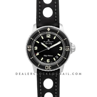 Fifty Fathoms Tribute to Aqua Lung in Black Dial