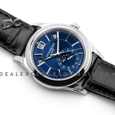 Complications Series Moonphase Blue Dial on Steel