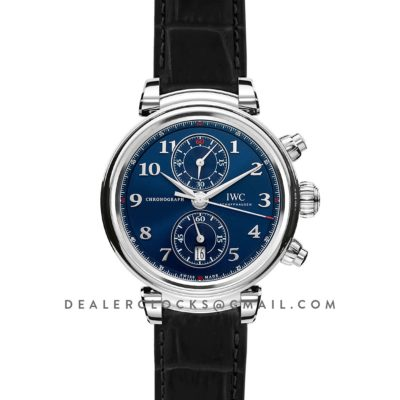 "Da Vinci Chronograph Edition ""Sport For Good Foundation"" IW393402 Blue Dial in Steel"