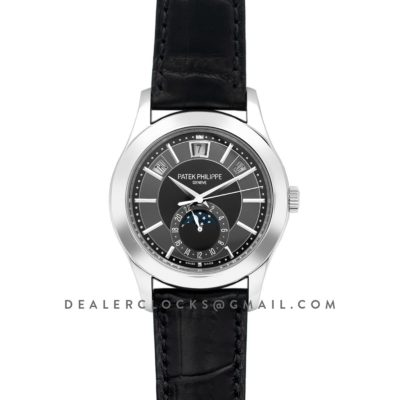 Complications Series Moonphase Black Dial on Steel