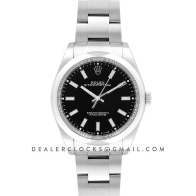 Oyster Perpetual 39mm Black Dial 114300