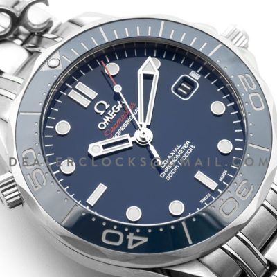 Seamaster Driver 300m Co-Axial 42mm Blue Dial in Steel