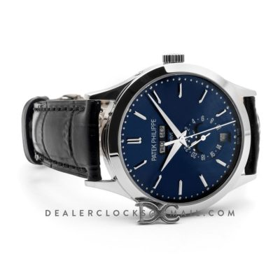 Complications 5396G Blue Dial with Crystal Markers in White Gold