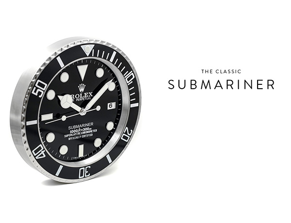 Rolex Submariner Clock Menu